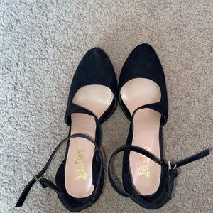 Brash platform high heels